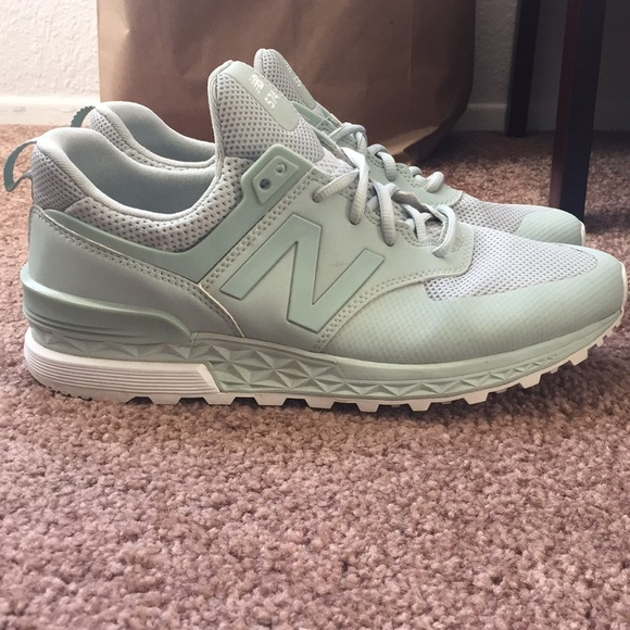 huge discount 3e829 ddaae New Balance 574 Sport- Mint Green